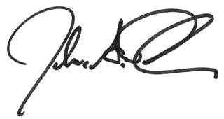 josh signature