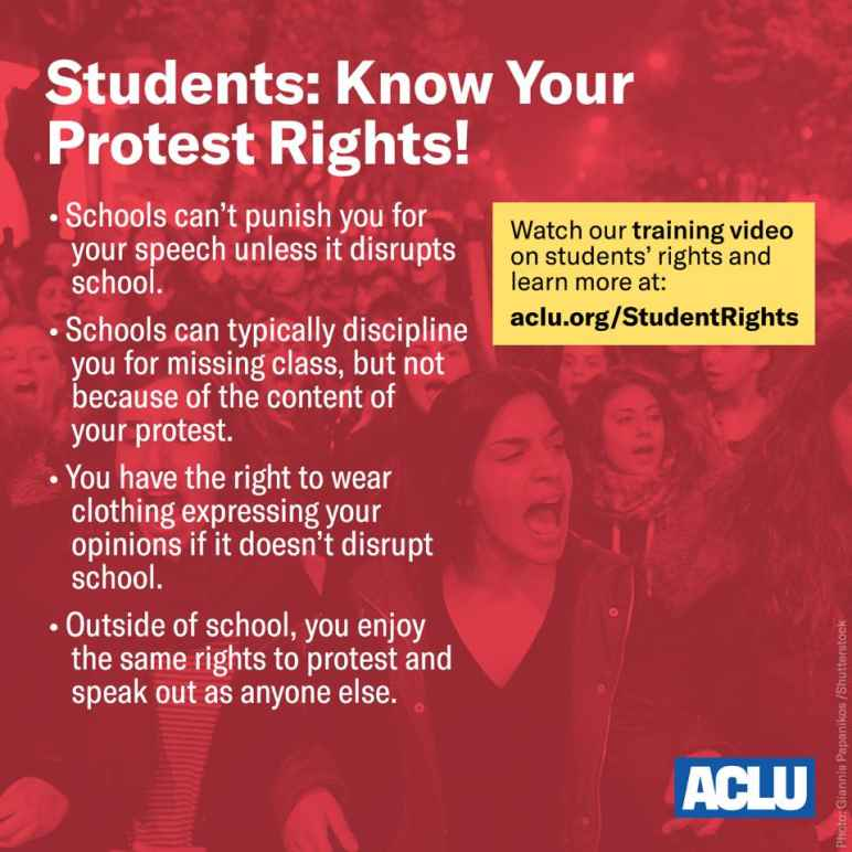 student protest rights