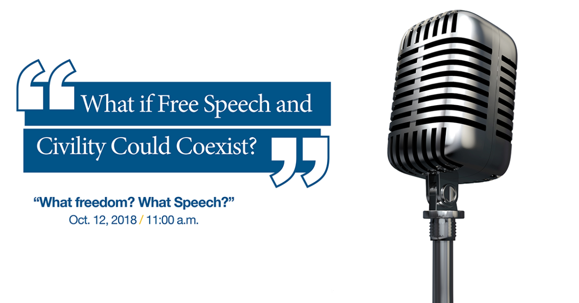 Free Speech event